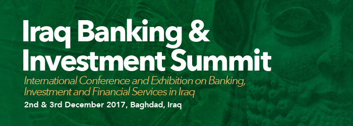 iraq banking and investment summit banner