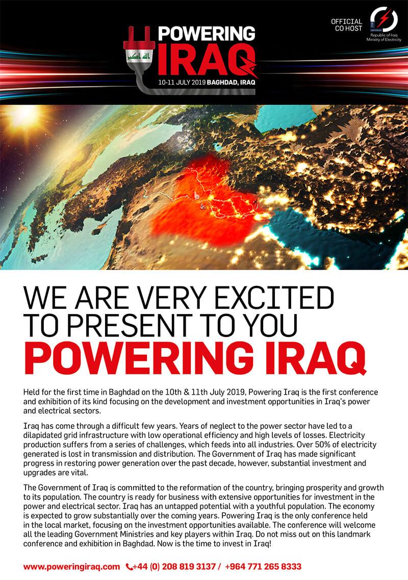 powering iraq brochure